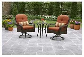3 piece outdoor furniture set better homes and gardens azalea ridge 3 piece - Garden Furniture 3 Piece