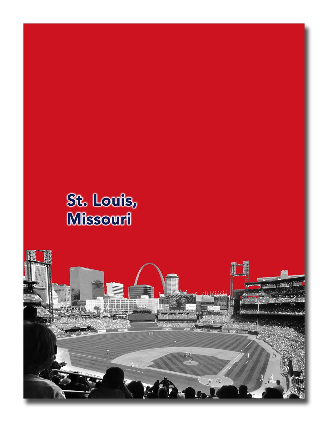 Amazon.com: St Louis Cardinals 12 x 16