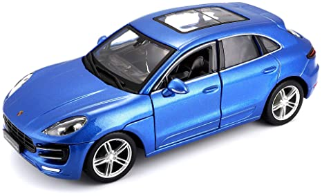 1:24 Bburago Porsche Macan Turbo Diecast Model Metal Vehicle Car Decor Toy Gift Diecast & Toy Vehicles Other Vehicles