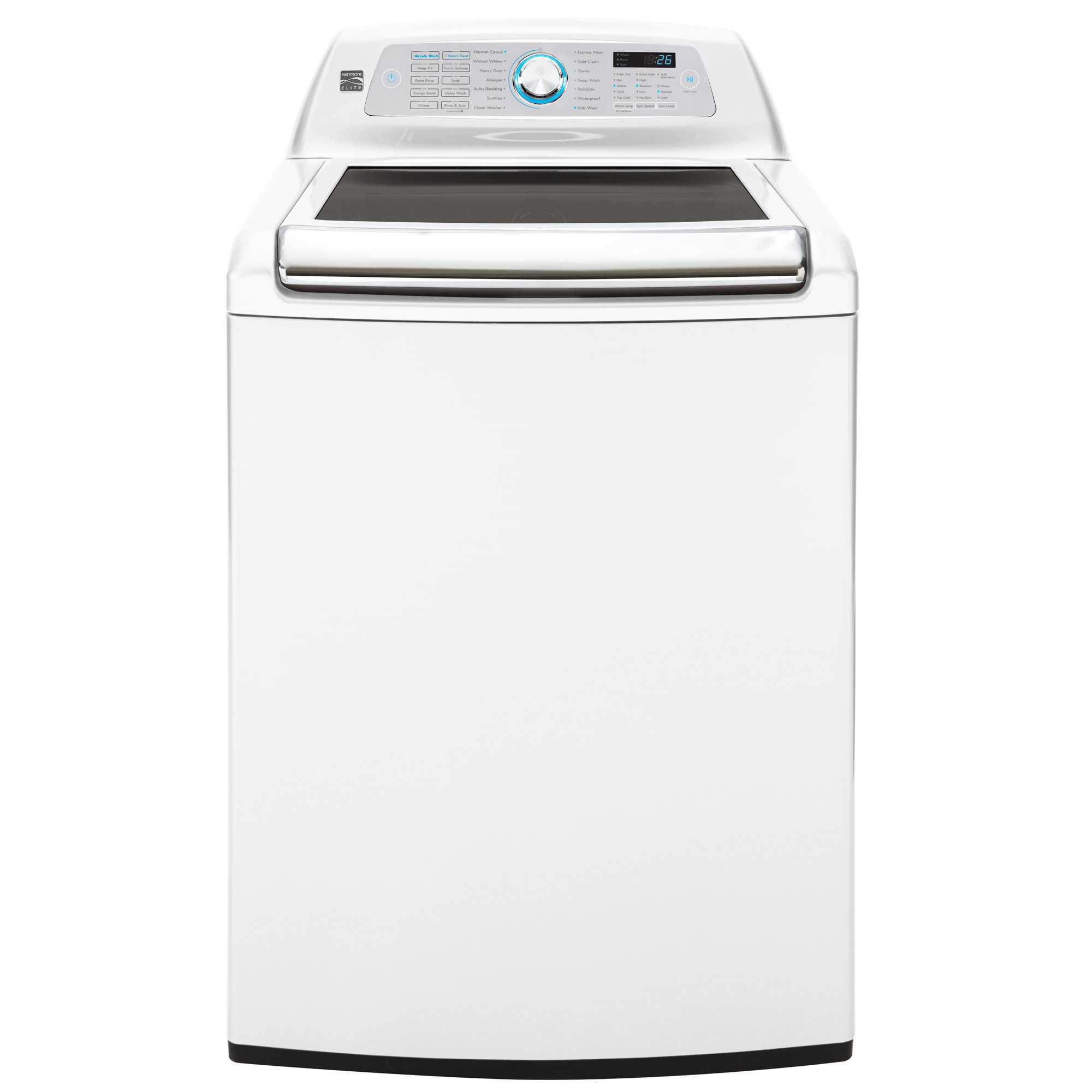 Kenmore Elite 31552 5.2 cu. ft. Top Load Washer in White, includes delivery and hookup (Available in select cities only)