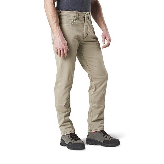 515bf85b27 5.11 Mens Defender-Flex Slim Fit Tactical Pant, Sytle 74464, Stone, 28Wx30L