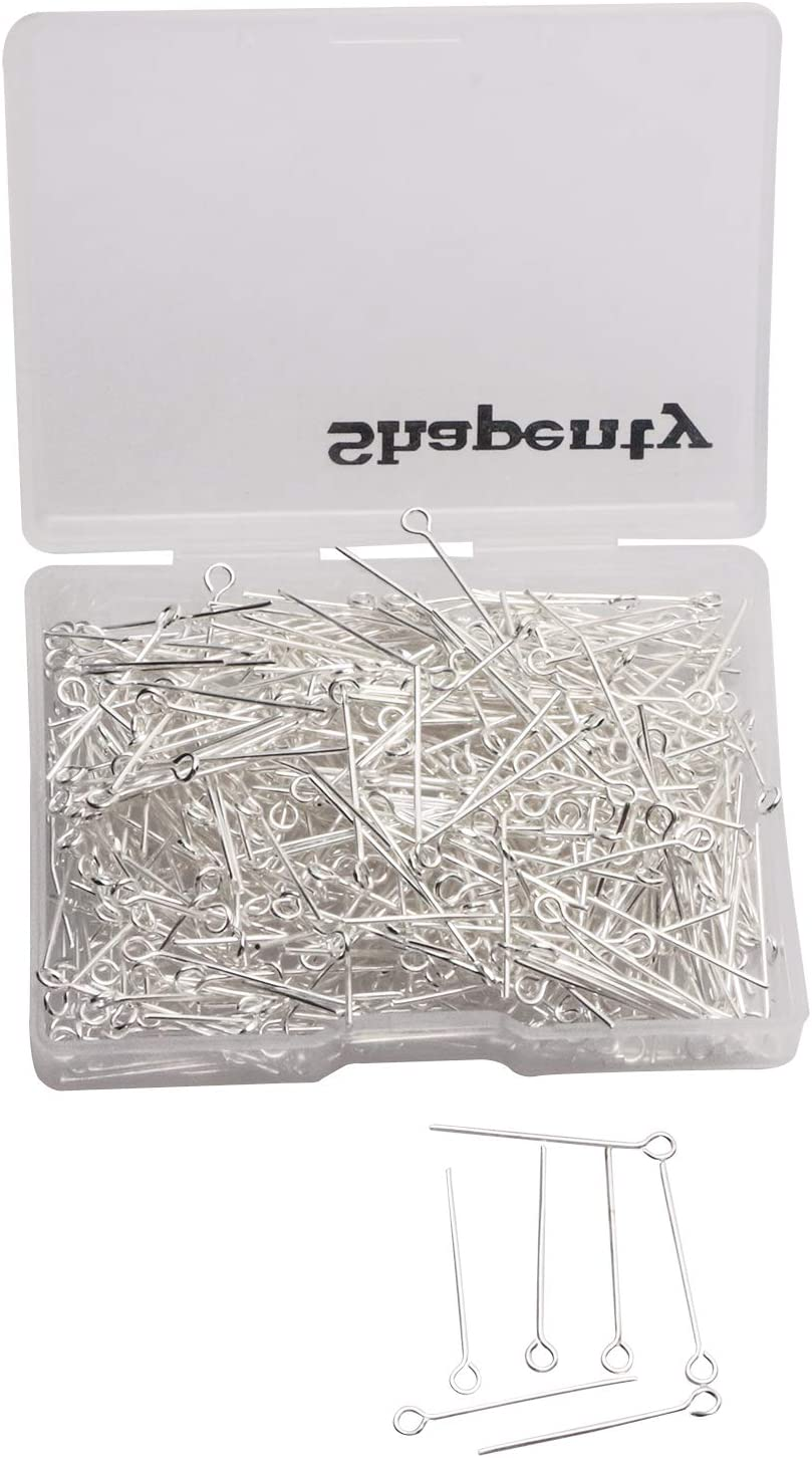 1 Box 304 Stainless Steel Headpins Jewelry Findings for Craft Making 700pcs//box