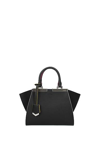 Fendi sac à main femme en cuir mini 3jours noir  Amazon.fr ... 4bbaba8baa0