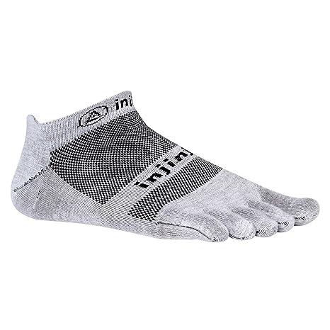 Vibram FiveFingers Injinji Run No Show - Calcetines de dedos para running (ultrafinos) negro Talla:M (40.5-44): Amazon.es: Deportes y aire libre