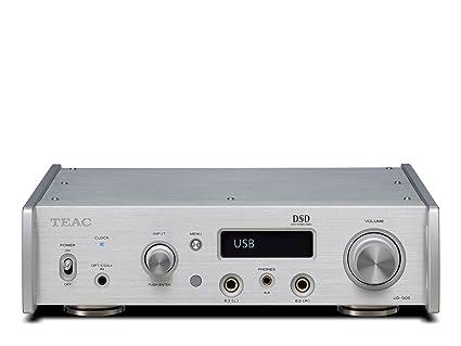 Amazon com: TEAC USB DAC/HEADPHONE AMPLIFIER UD-505-S (SILVER
