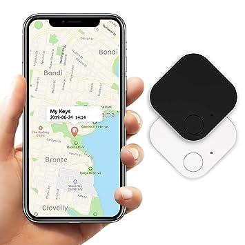 Key Finder 2Pcs, Buscador de teléfono Buscador de Billetera, Bluetooth Rastreadores de Mascotas Monedero Rastreador de Equipaje Anti Lost Reminder ...