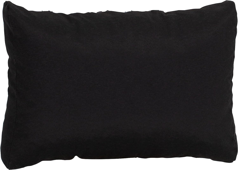 Beo R/ückenkissen Sofa 60x40 cm Premium Waschbar Palettenkissen R/ückenlehne Polster Outdoor f/ür Rattan Lounge Couchkissen gro/ß Made in EU Lounge Kissen wasserabweisend Anthrazit