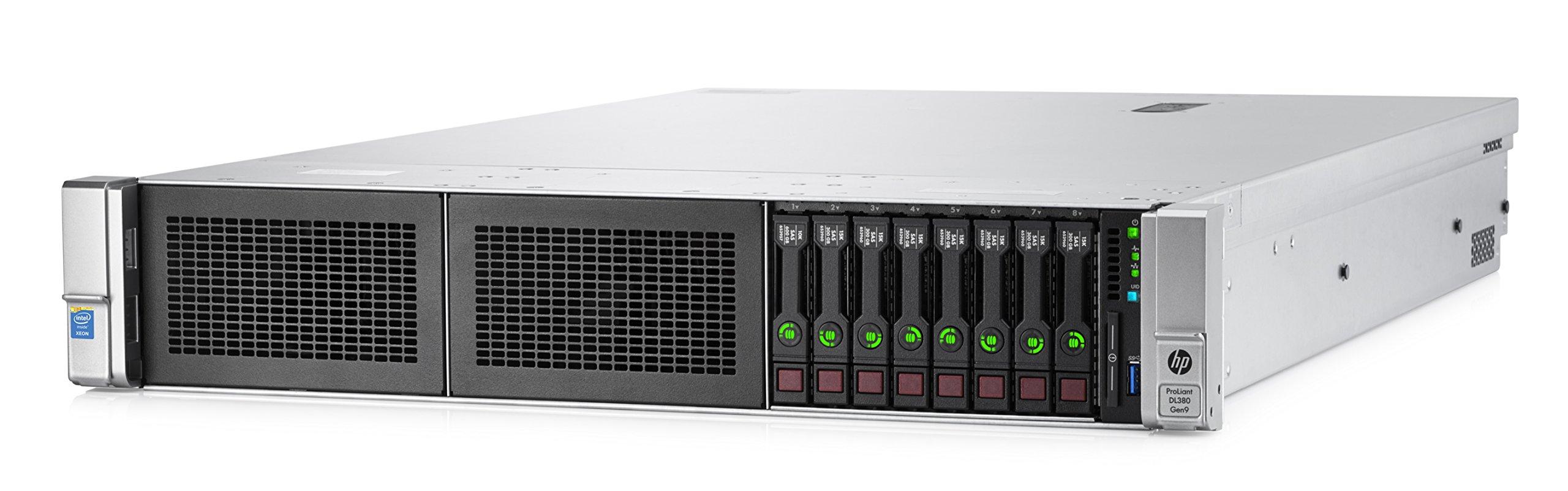 HPE 752689-B21 ProLiant DL380 Gen9 Performance Server, 32 GB RAM, No HDD, Matrox G200eH2, Black