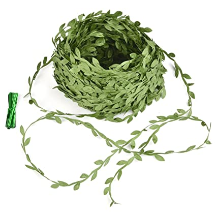Artificial & Dried Flowers Festive & Party Supplies Fake Grass Rattan Classic Green Home Plastic Diy Simulation Plant Garden Party Selected Material