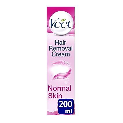 Crema depilatoria Veet de leche de loto y jazmín de 200 ml