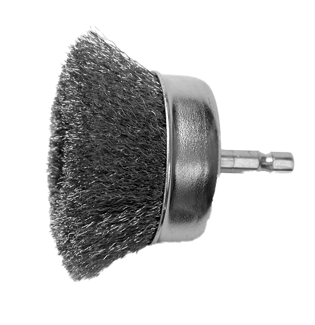 Coarse Hot Max 22020 2 1//2-Inch Crimped Wire Mounted Cup Brush