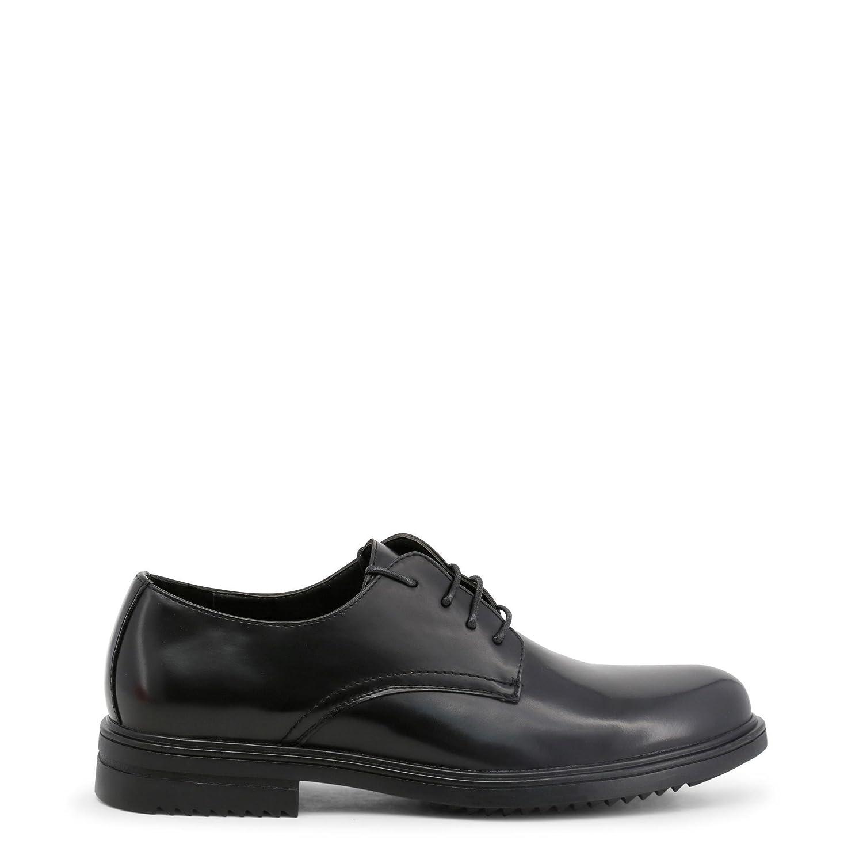 Duca di Morrone Zapato con Cordones Albert Hombre 43 EU|Negro