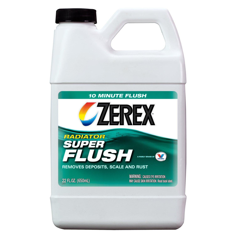 Zerex Super Radiator Flush - 22oz (Case of 12) (ZXC01-12PK) by Zerex