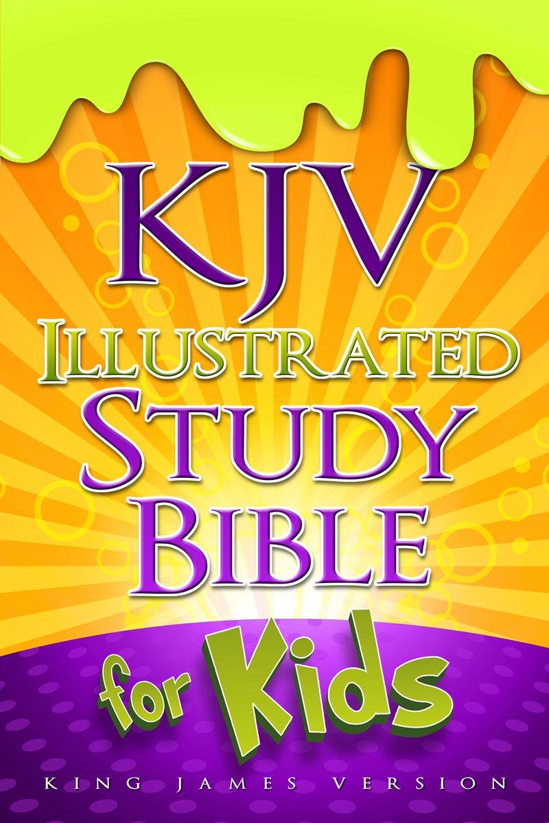 kjv illustrated study bible for kids hardcover holman bible