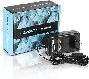 12 V Lavolta original fuente de alimentación para Yamaha Psr-100 Psr-11 Psr-110 Psr-12 Psr-125 Psr-130 Psr-140 Psr-15 Psr-150 Psr-16 Psr-160 Psr-172 ...