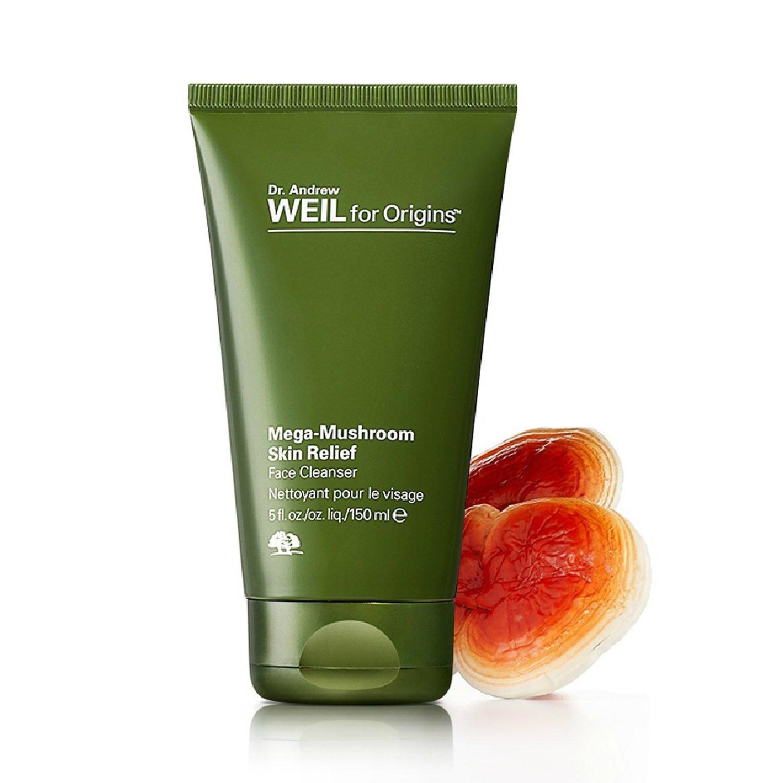 Origins Mega-Mushroom Skin Relief Face Cleanser 5 oz