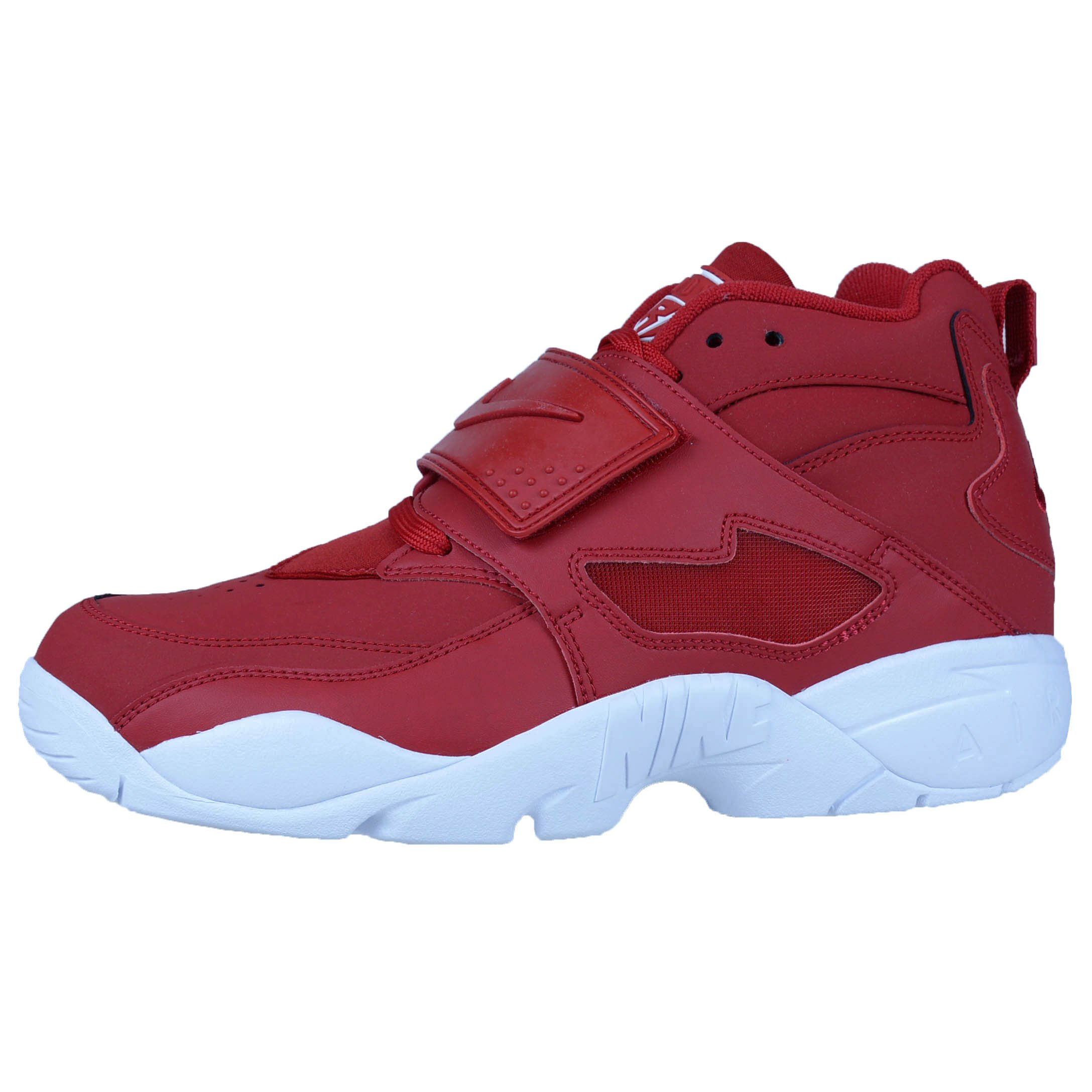 Nike Air Diamond Turf Gym Red/Gym Red-White (12 D(M) US) by Nike (Image #2)