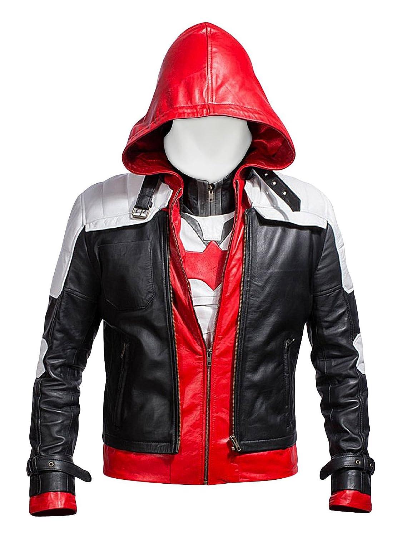 Leather jacket repair ottawa - Laverapelle Batman Arkham Knight Red Hood Faux Leather Men Jacket Vest At Amazon Men S Clothing Store