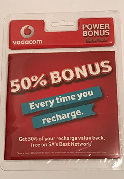 Vodafone sur África Tarjeta SIM Prepago Starter Pack trio ...