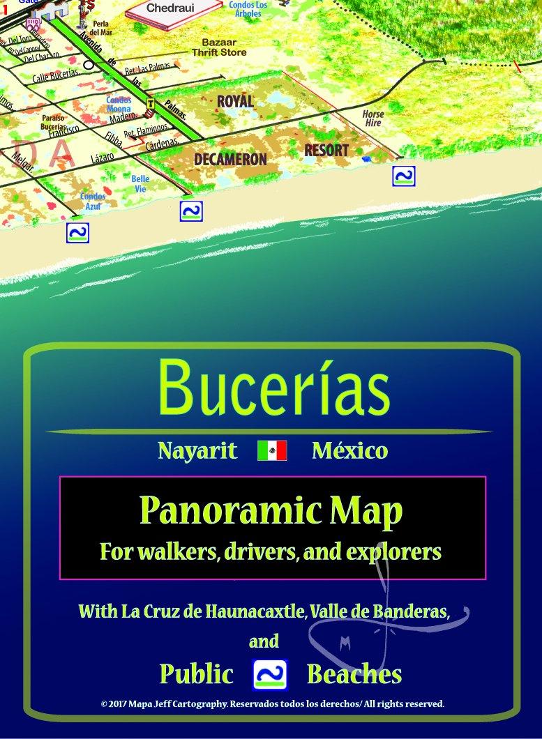 Bucerías/La Cruz Panoramic Map: Jeffrey F. Obser ...