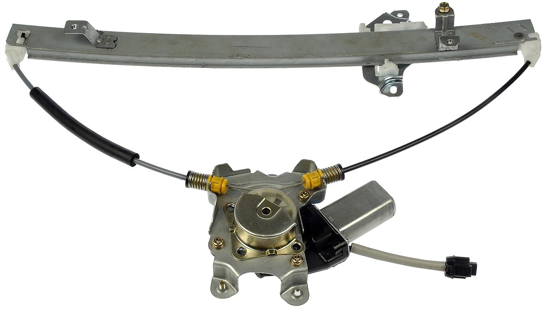 Dorman 748-898 Rear Driver Side Power Window Regulator and Motor Assembly for Select Nissan Models