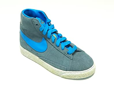 acdc4f2dff713 Nike Sneakers Colore Grigio-Blu Modello Blazer Mid Vintage 549548 405 (TD)  Taglia 29.5  Amazon.it  Scarpe e borse