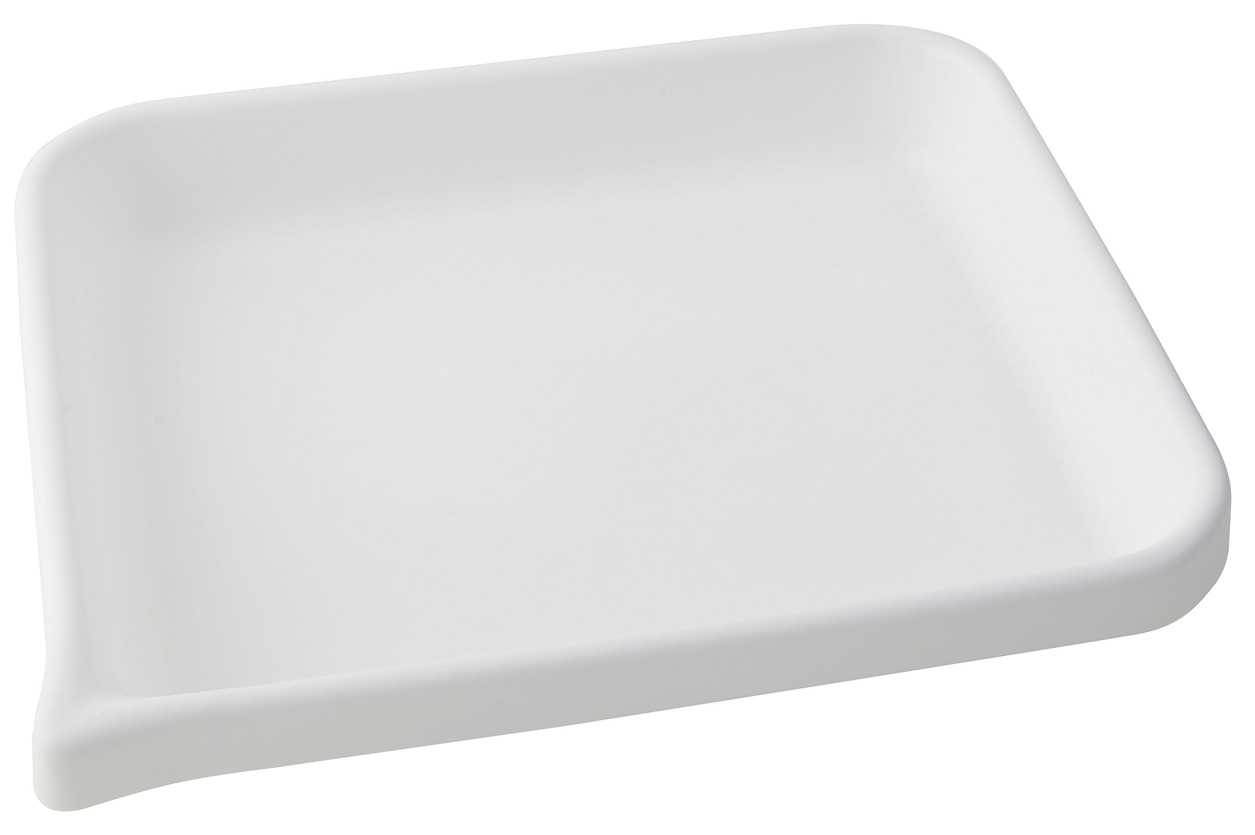 Dynalon 409214 HDPE Developing Flat Bottom Tray, 13.25'' L x 11.25'' W x 1.875'' H by Dynalon