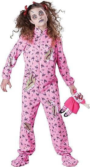 Disfraz Zombie para niña - Premium - De 8 a 10 años: Amazon.es ...