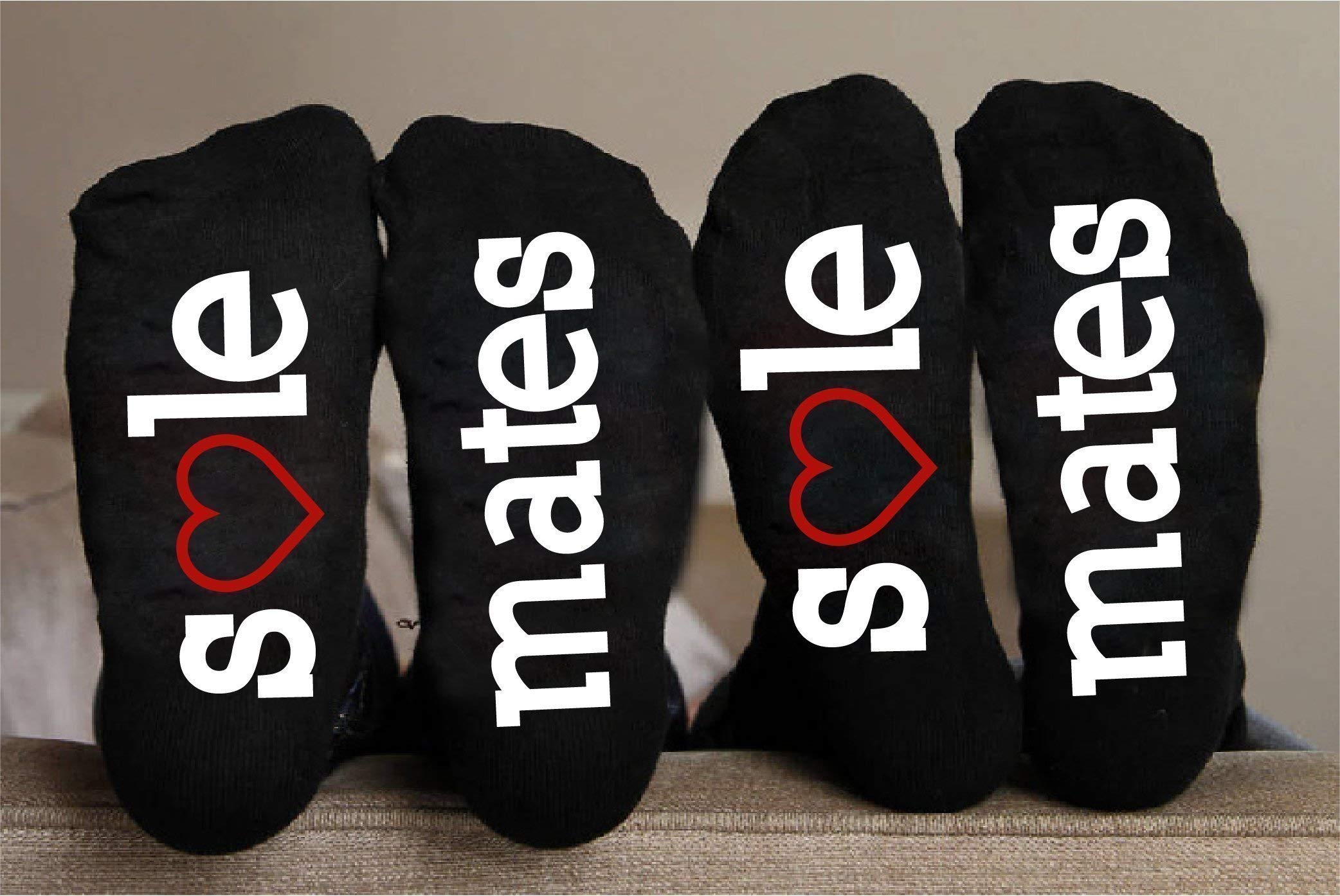 Personalized Socks For Anniversary Sole Mates Funny Gift
