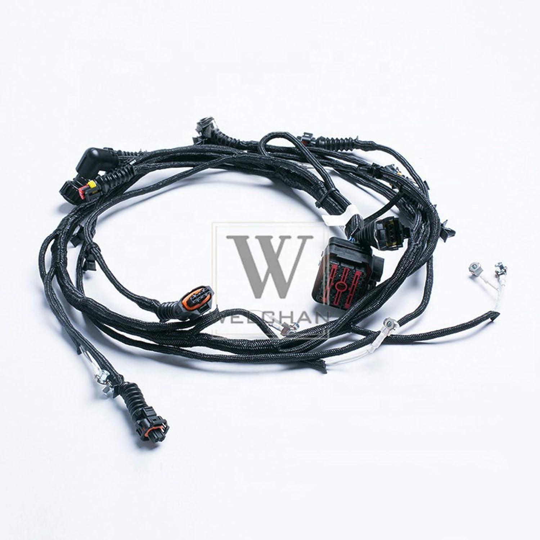 amazon.com: excavator wire harness diesel engine d6e wiring harness fit  volvo excavator ec180b ec210b ec240b 04211135: automotive  amazon.com
