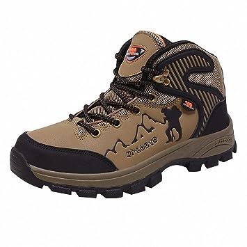 Ben Sports Trekking Wanderhalbschuhe Traillaufschuhe Outdoor Fitnessschuhe Braun Herren,37-46