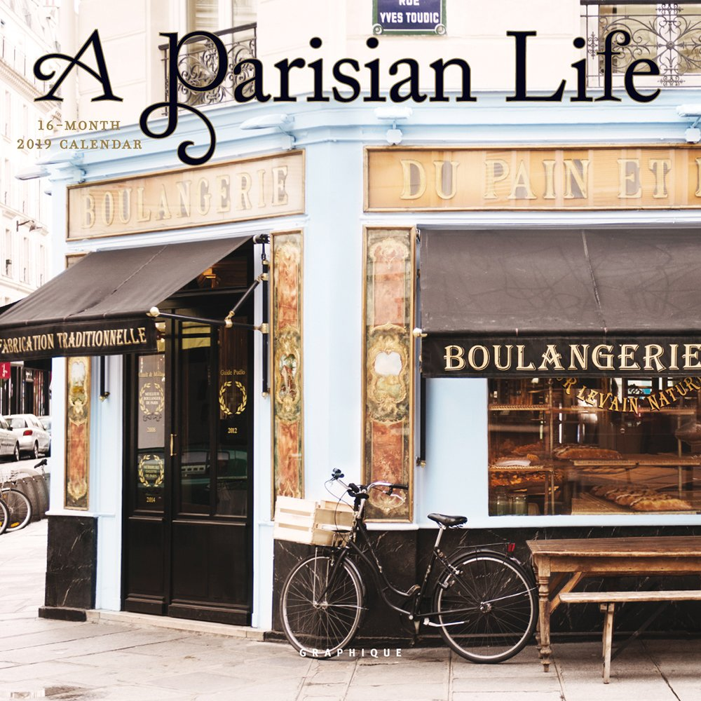 PARISIAN LIFE 2019 MINI WALL CALENDAR