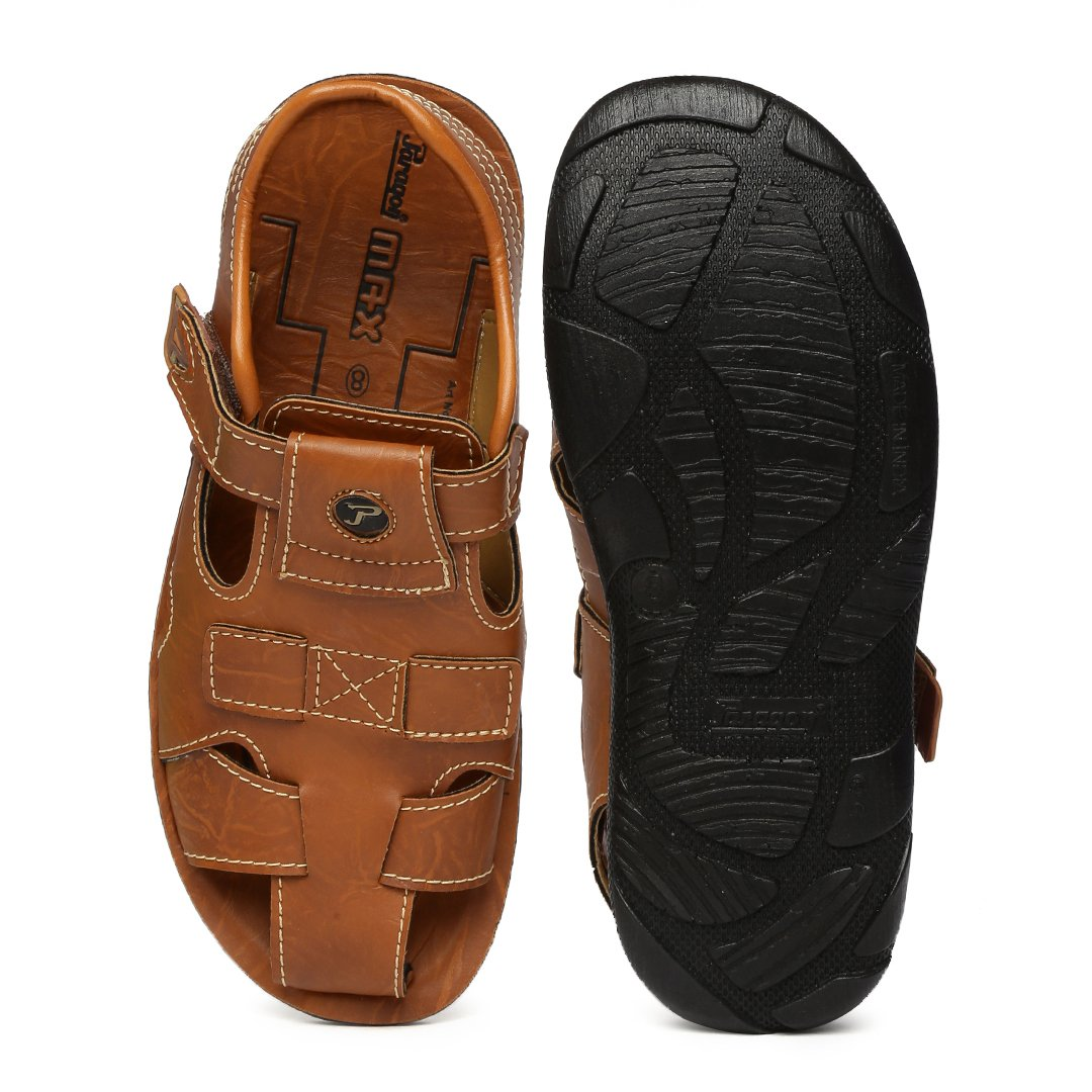 5a578beebd9 PARAGON MAX Men s Brown Sandals  Buy Online at Low Prices in India -  Amazon.in