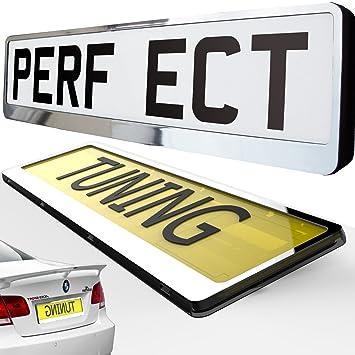 Car Registration License Number Plate Surrounds Holder Frame ALL ...