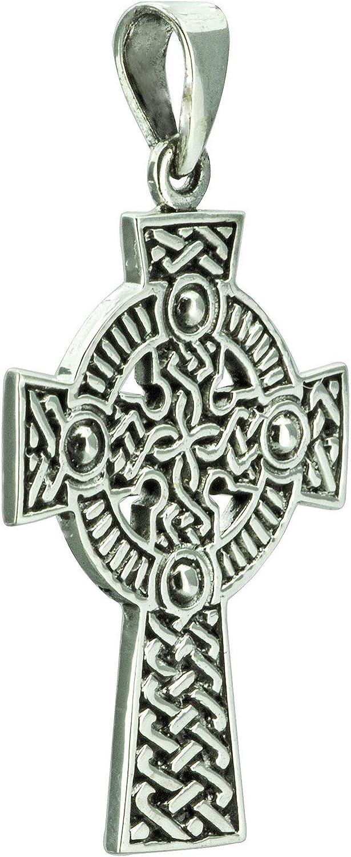 Beldiamo Pendentif croix celtique en filigrane 6,5g en argent sterling 925