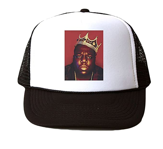 Image Unavailable. Image not available for. Colour  Notorious BIG Biggie  Custom Trucker Hat Cap Mesh Snapback ... ad749a180f12