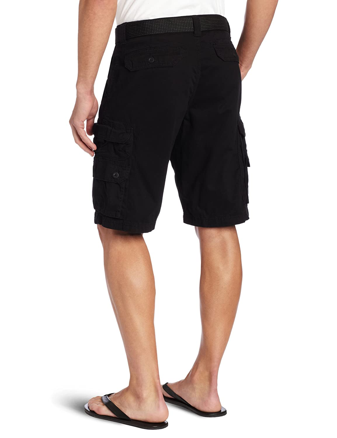 c9d953797f Amazon.com: LEE Men's Big & Tall Dungarees Belted Wyoming Cargo Short:  Clothing