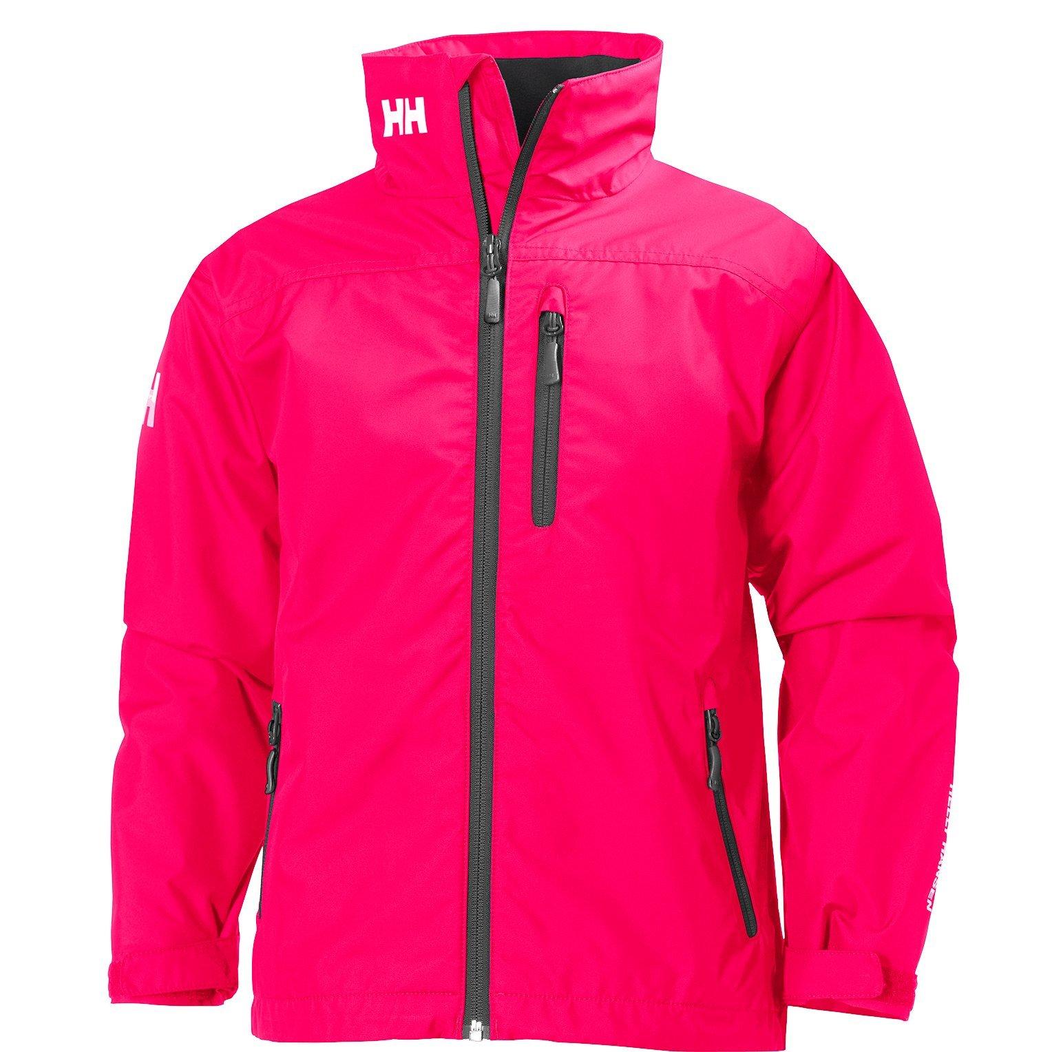 Helly Hansen Junior Crew Midlayer Jacket, Red, 16