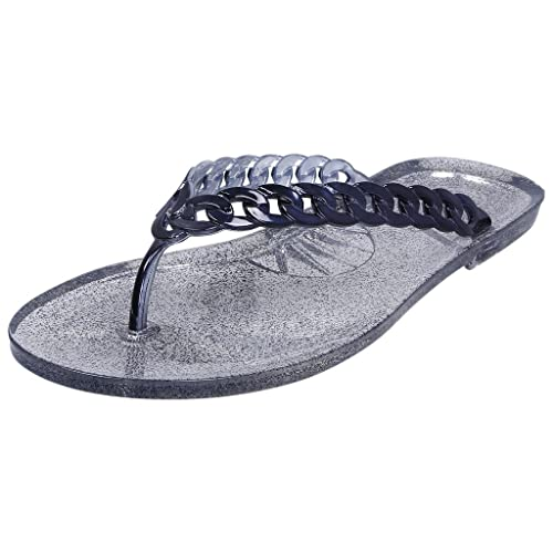 a4e345a1c57a FLIPSIDE Womens Jelly Blue Flats  Buy Online at Low Prices in India -  Amazon.in
