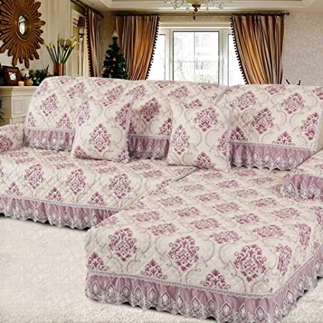 FERZA Home Cojines para sofá Funda de sofá Tela Simple ...