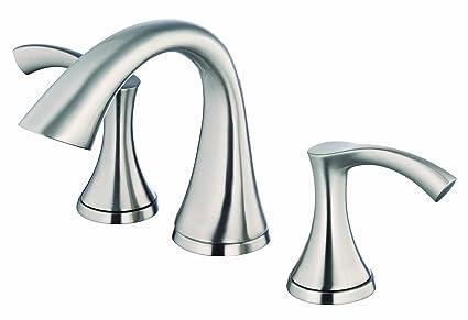 Danze D304122BN Antioch Two Handle Mini-Widespread Lavatory Faucet ...