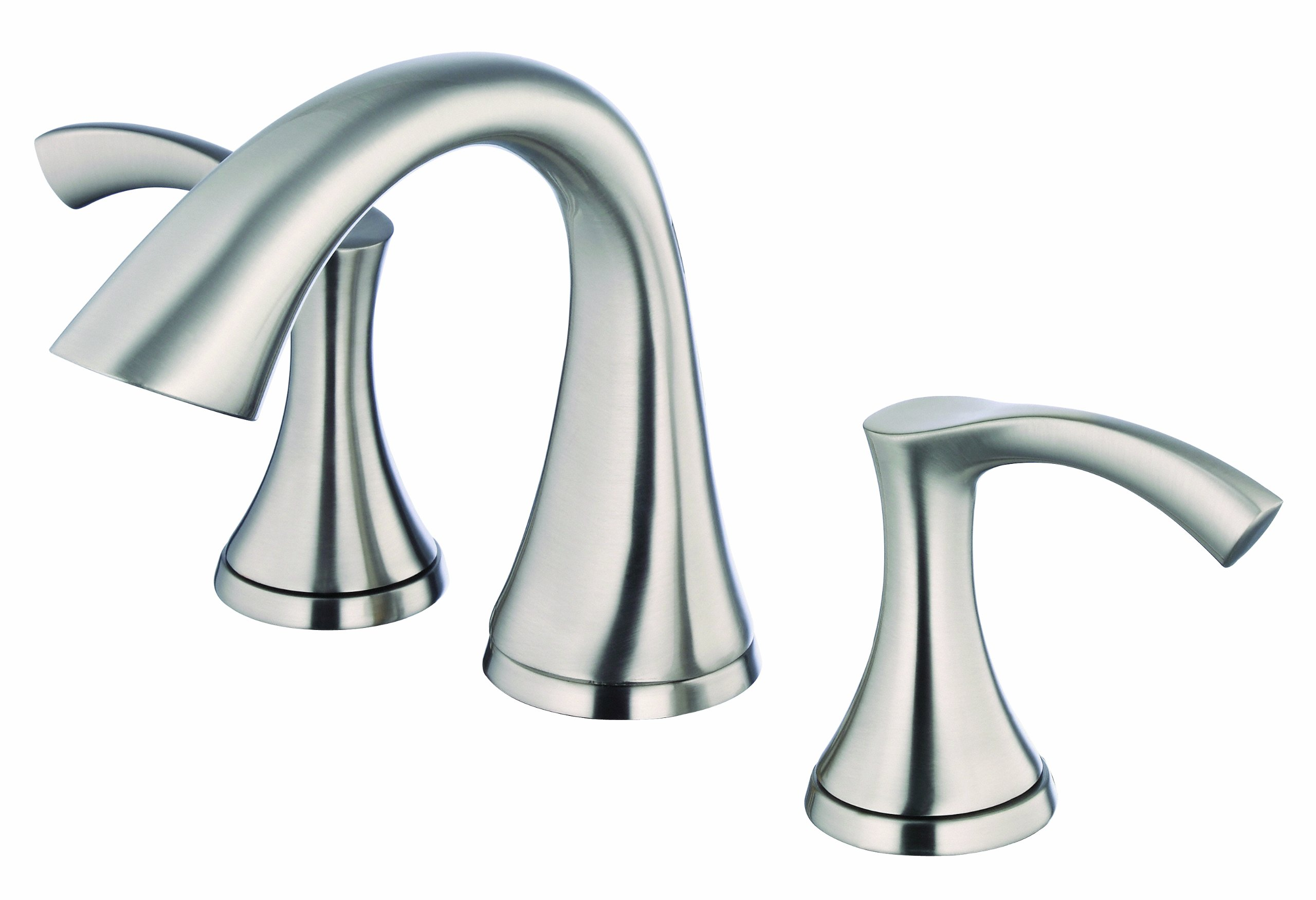 Danze D304022BN Antioch Two Handle Widespread Lavatory Faucet, Brushed Nickel
