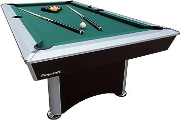 Playcraft Sprint Tela Verde Mesa de Billar, Negro/Gris: Amazon.es: Deportes y aire libre