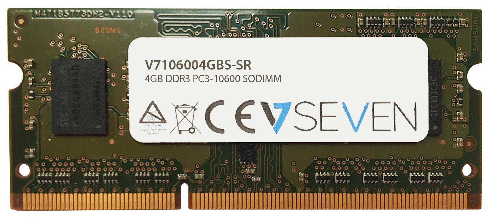 Memoria Ram 4GB DDR3 1333MHZ PC3-10600 SODIMM V7