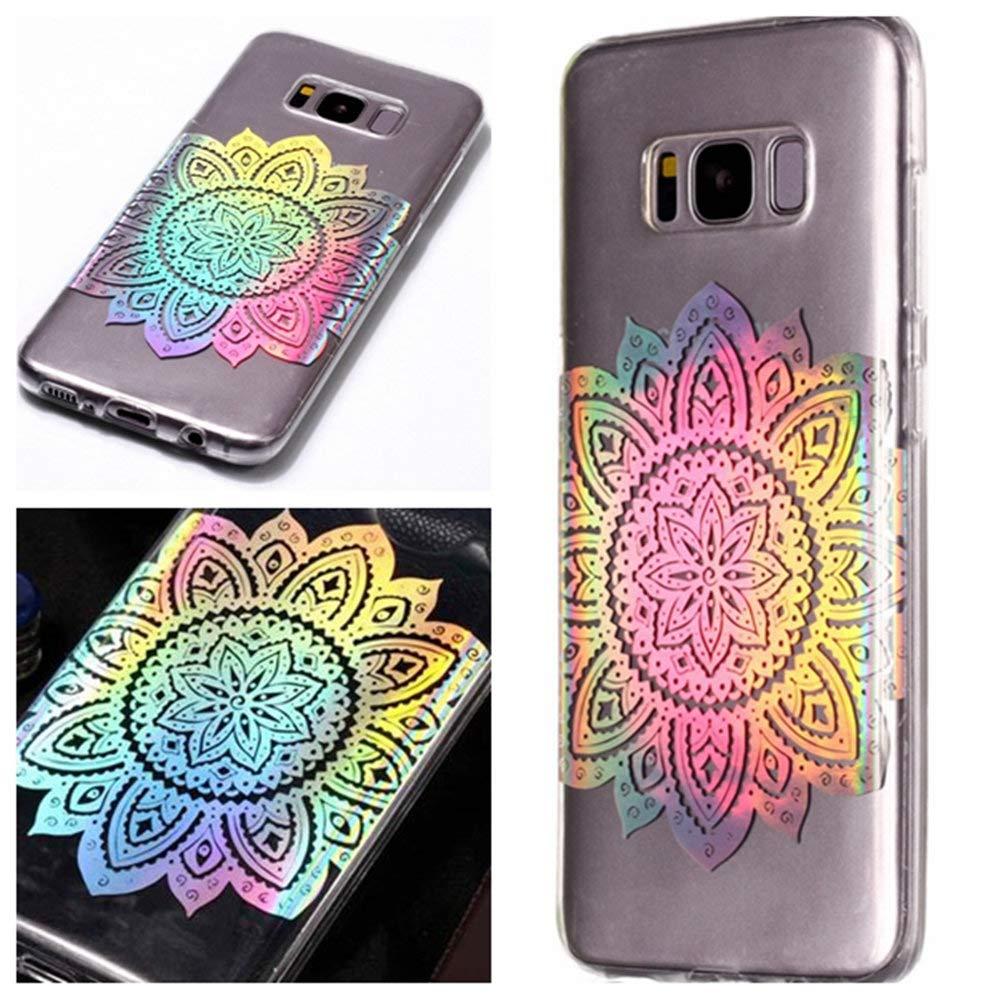4 MHHQ Kristall Funkeln Glitzer Laser Handyh/ülle Ultra D/ünn Schutzh/ülle Silikon Transparent mit Muster Weich TPU Case Backcover f/ür Samsung Samsung Galaxy S7 Edge Samsung Galaxy S7 Edge H/ülle