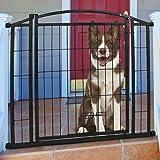 Carlson Pet Weatherproof Outdoor Walk-Thru Pet Gate
