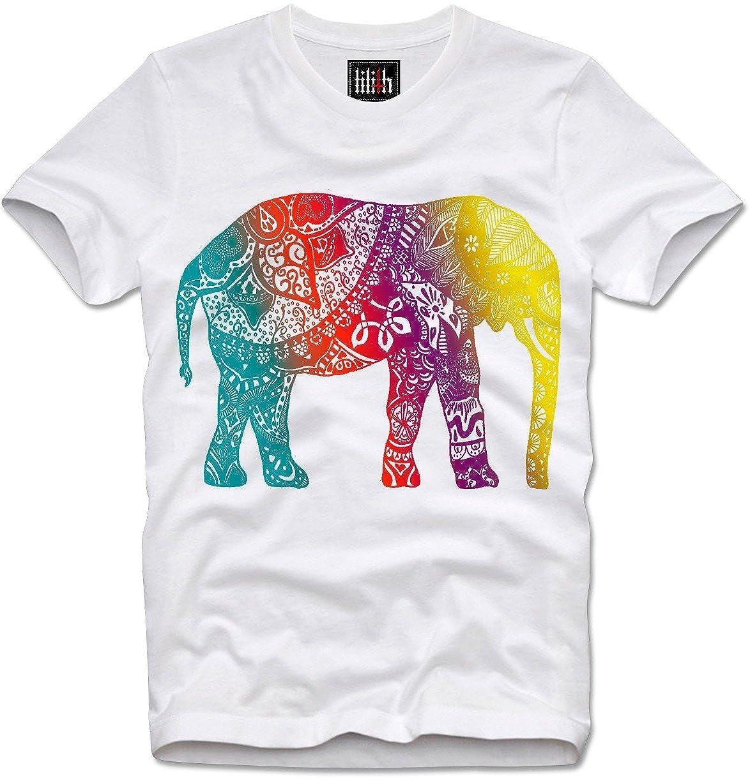 Amazon.com: Lilith T-Shirt Indian Elephant Elefant Indien ...