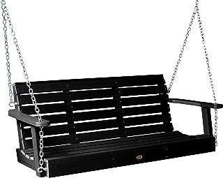 product image for Highwood AD-PORW1-BKE Weatherly Porch Swing, 5 Feet, Black