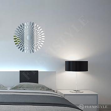 Genial FLEXISTYLE Großer Wandspiegel Acryl Decor Daisy 60 Cm, Unzerbrechlich,  Wohnzimmer, Schlafzimmer, Spiegel