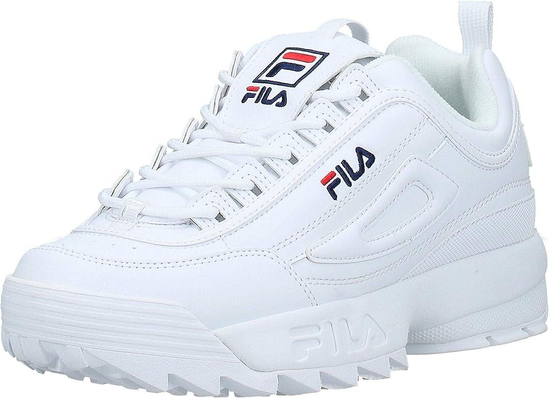Fila Disruptor Low, Zapatillas para Hombre, Bianco (White 1fg), 41 EU: MainApps: Amazon.es: Zapatos y complementos